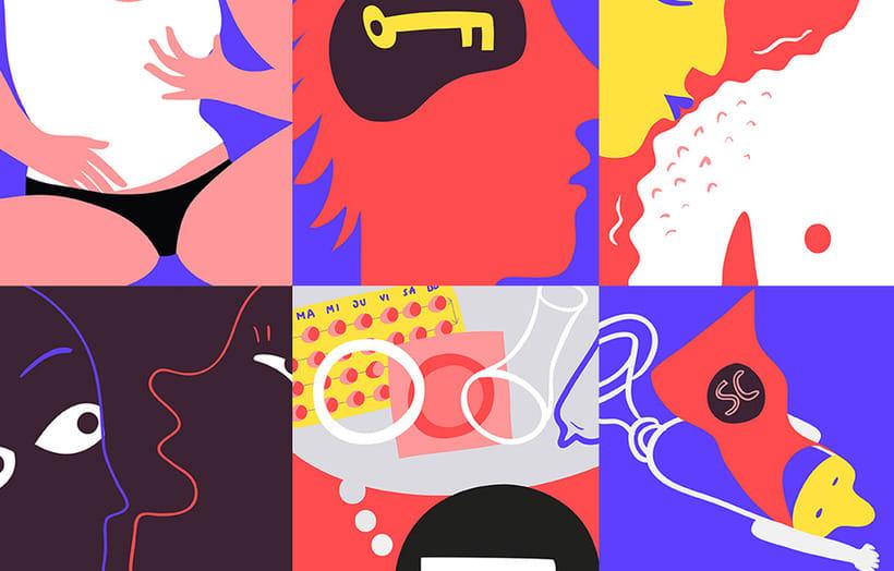 Rompiendo tabúes sexuales con las ilustraciones de La Clara  12
