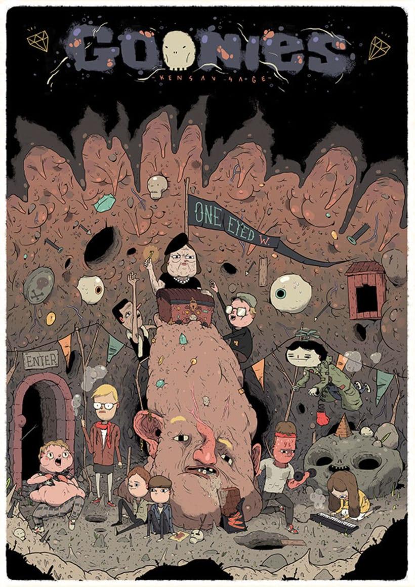 Cristian Robles y sus ilustraciones de cuento 1