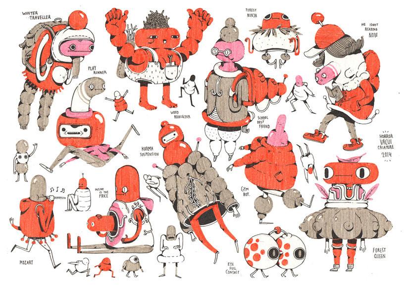 Cristian Robles y sus ilustraciones de cuento 3