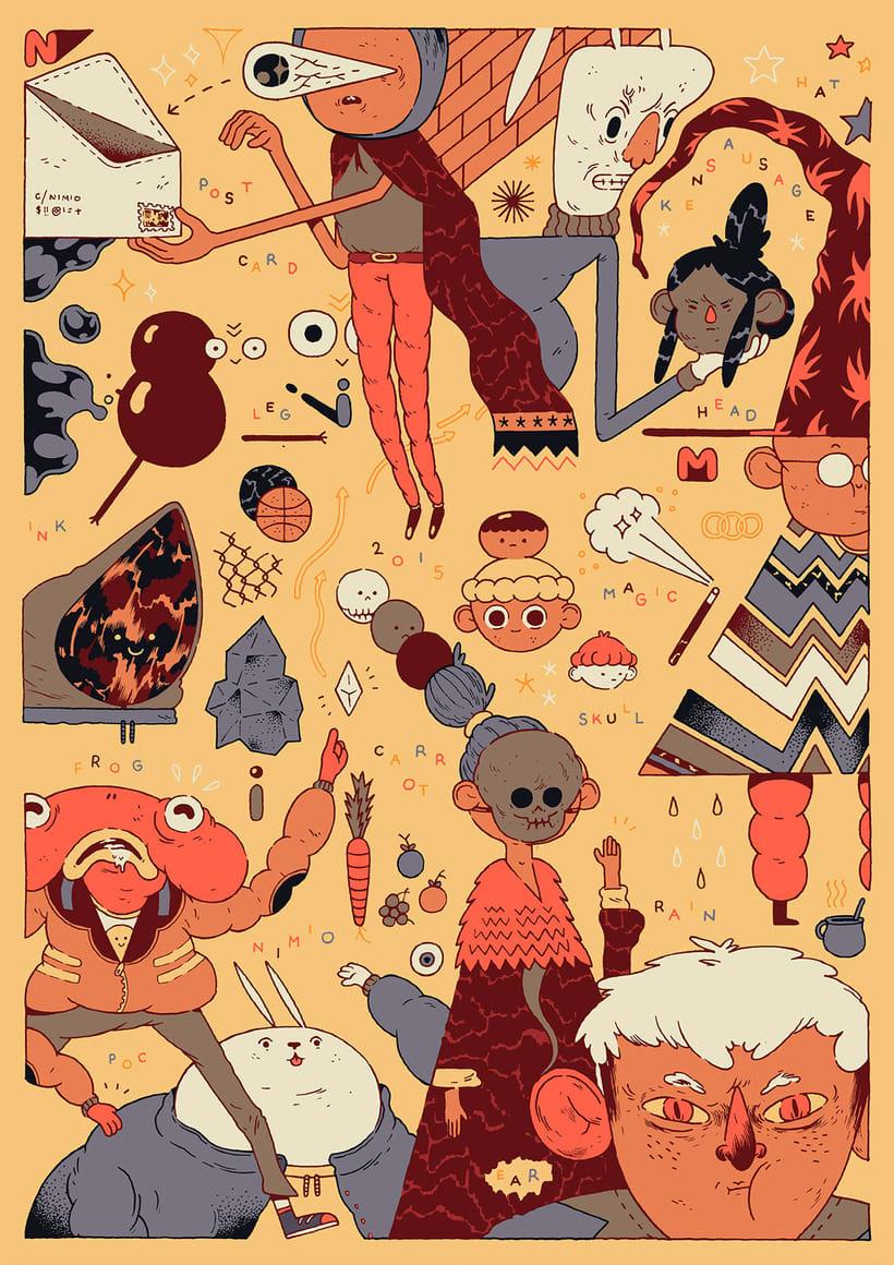 Cristian Robles y sus ilustraciones de cuento 10