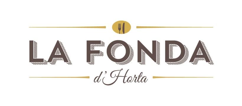 Branding restaurant La Fonda d'Horta 1