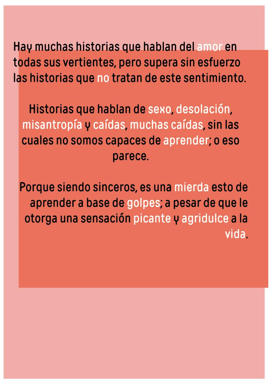 Historias del (NO) amor 8