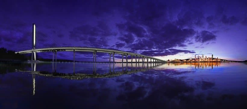 Champlain Bridge in Montreal (Canada) 0