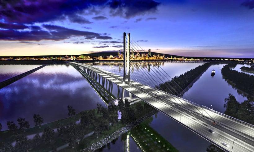 Champlain Bridge in Montreal (Canada) 1