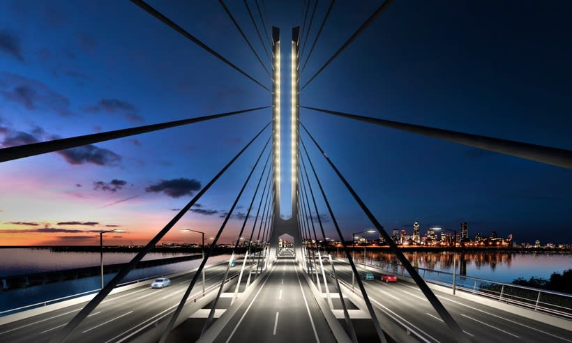 Champlain Bridge in Montreal (Canada) 2