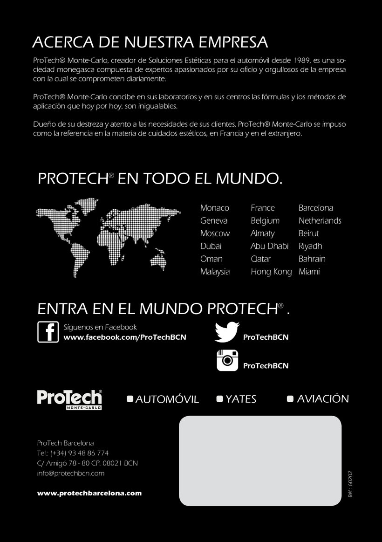 Diseño díptico ProTech 3