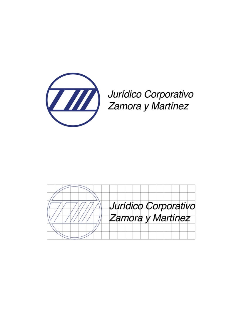 Mi Proyecto del curso: Identidad corporativa bi y tridimensional para JURÍDICO CORPORATIVO ZAMORA Y MARTÍNEZ.  4