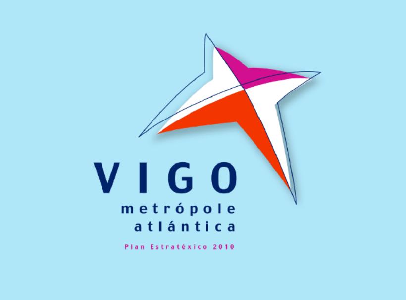 aIdentidade gráfica para Plan Estrátexico de VIGO, metrópole atlántica 0