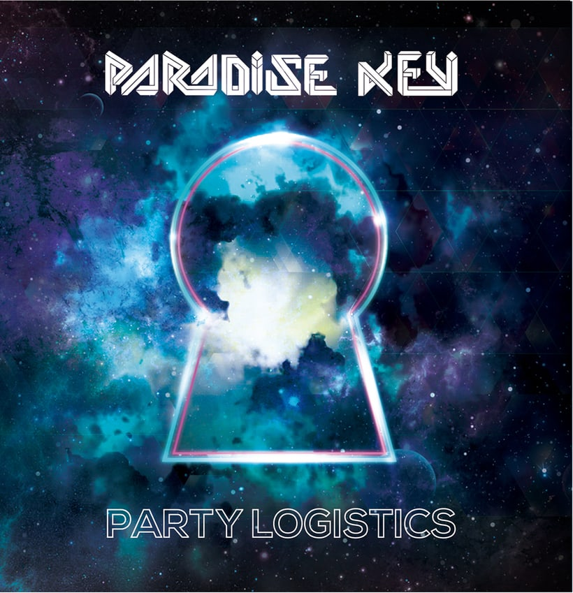 Diseño de CD Paradise Key PARTY LOGISTICS 0