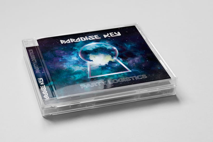 Diseño de CD Paradise Key PARTY LOGISTICS 1