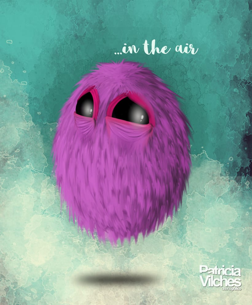 Ilustración ... in the air -1