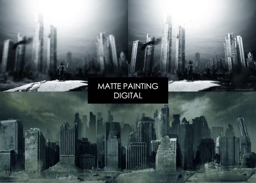 14 - MATTE PAINTING DIGITAL 0