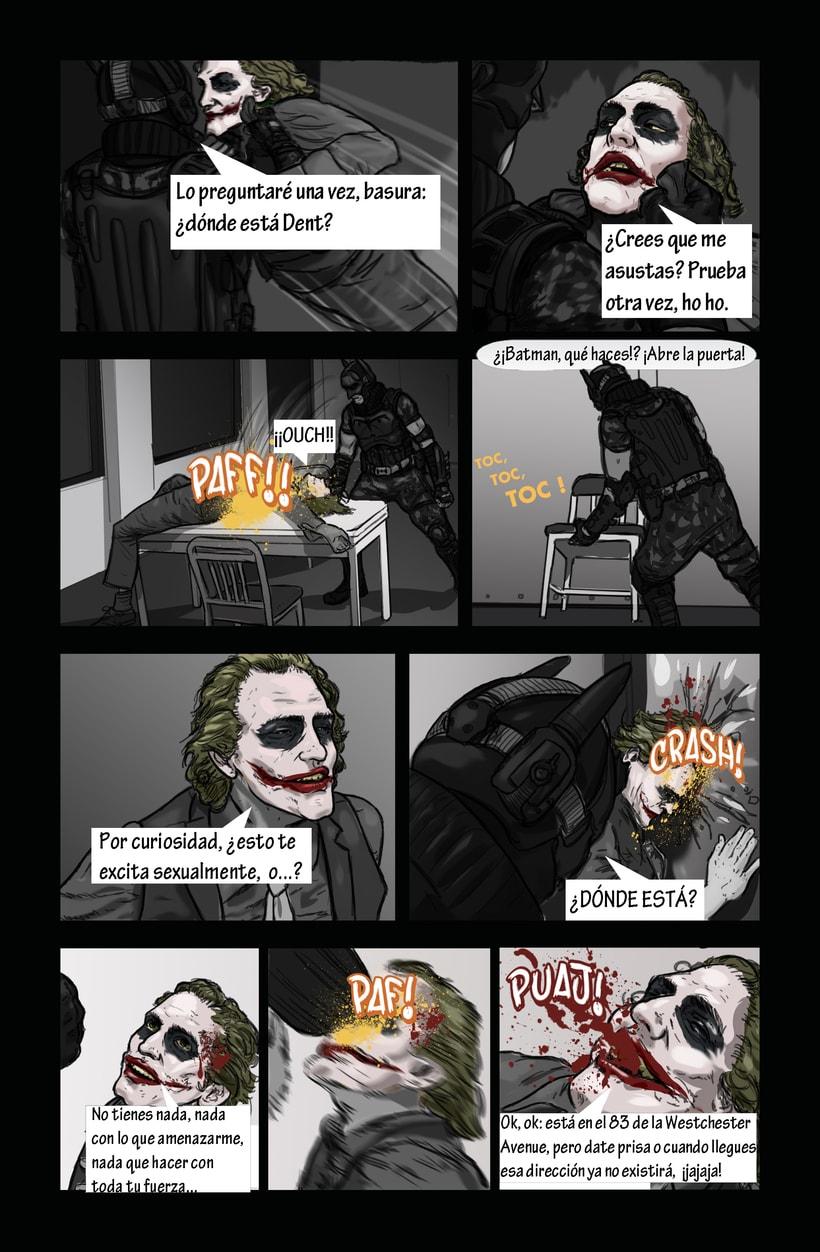Dibujantes para Cómic Colectivo de Batman 1