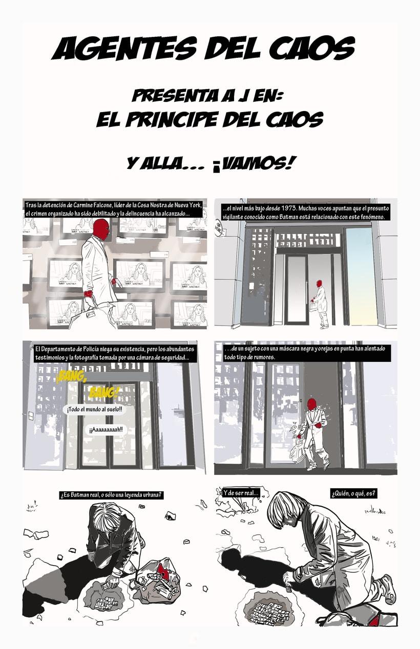 Dibujantes para Cómic Colectivo de Batman 2