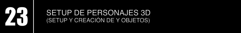 23 - SETUP DE PERSONAJES 3D  1