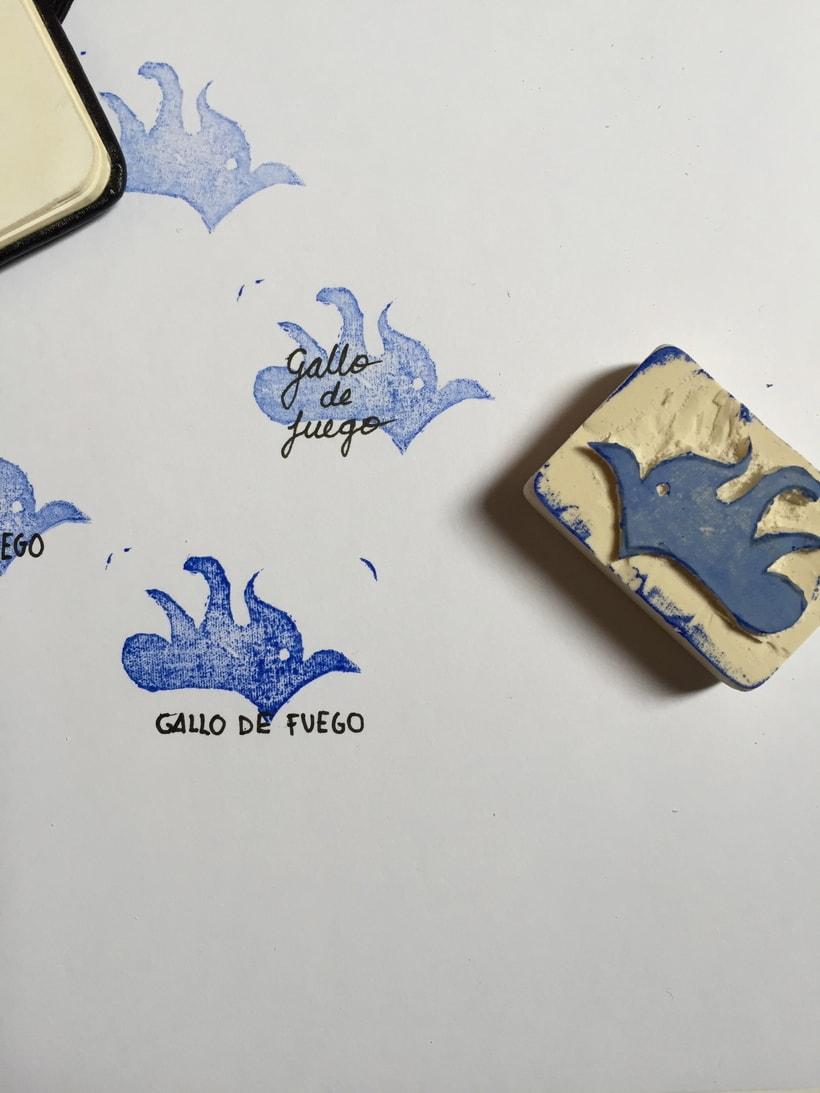 Editorial Gallo de Fuego 6