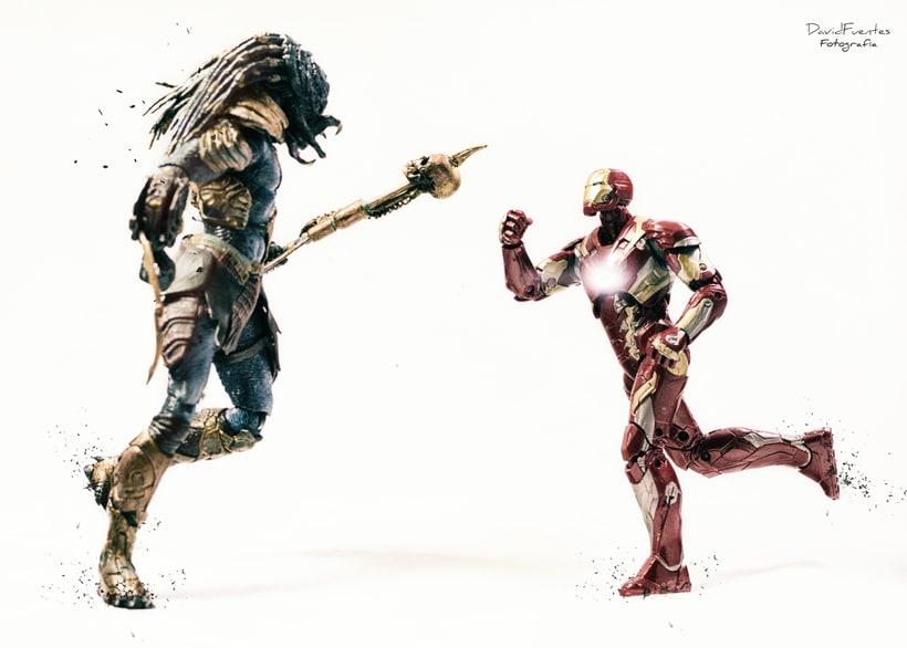 Iron Man vs Predator -1