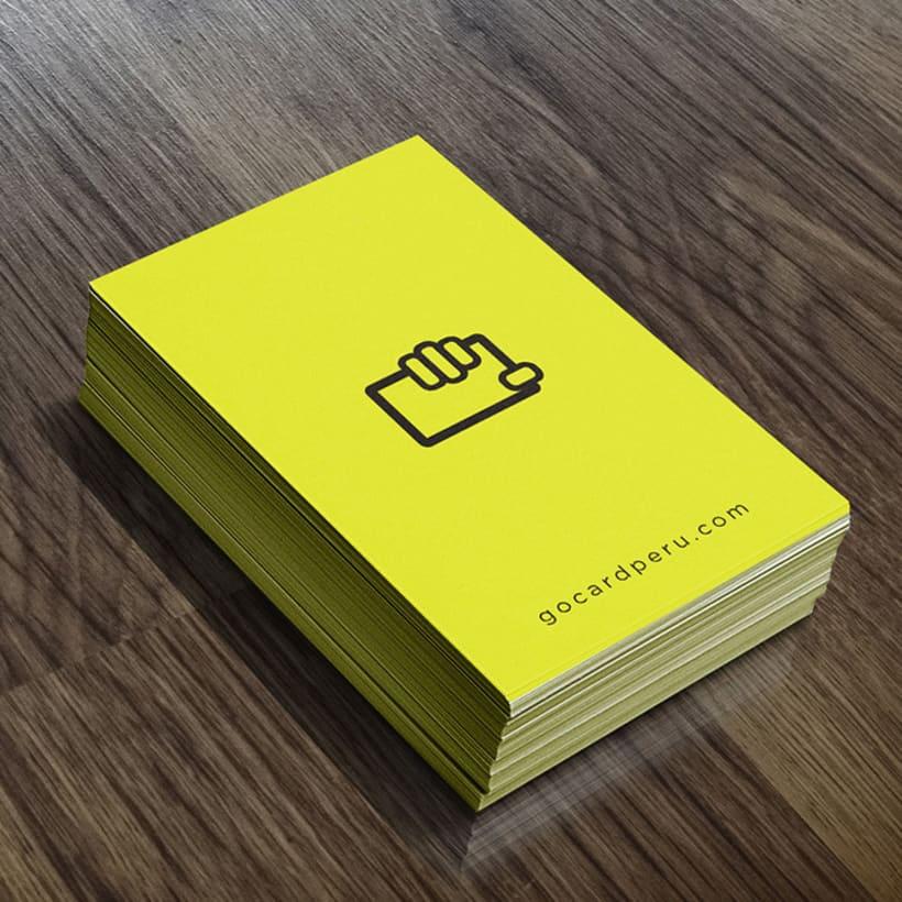 Branding Gocard | Postales publicitarias 0
