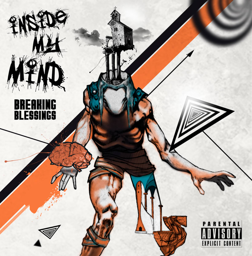 Cover CD Inside My Mind- Breaking Blessings -1