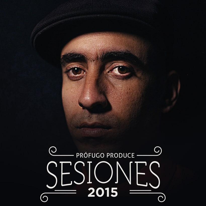 Cover CD Sesiones. Prófugo Produce 2015 -1