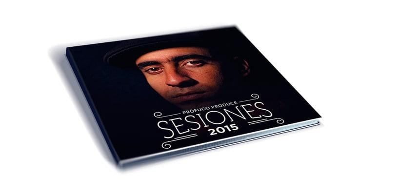 Cover CD Sesiones. Prófugo Produce 2015 2
