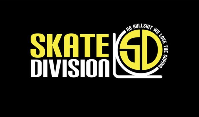 Skate Division Logo, Skates products -1