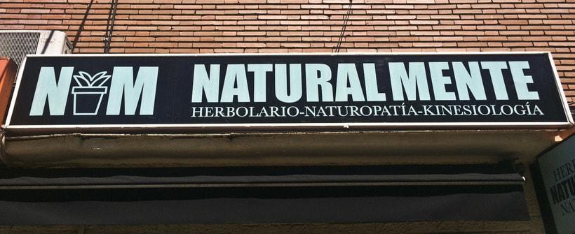 Diseño Reforma Integral Herbolario NATURALMENTE. Madrid 4