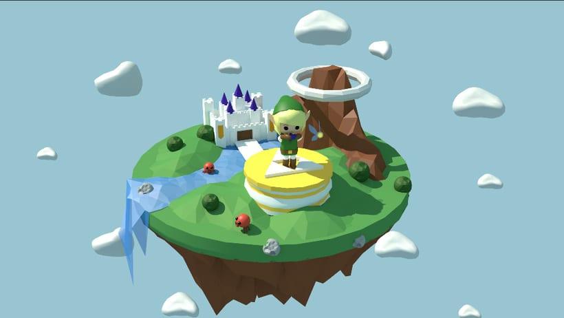 Link´s ocarine - The legend of Zelda 1