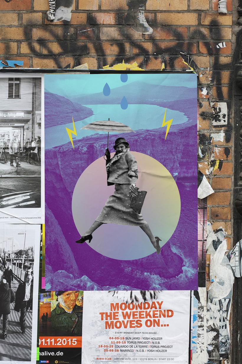 Collage: Poesía visual 2