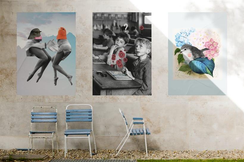 Collage: Poesía visual 3