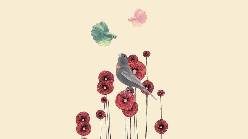 Collage: Poesía visual 6