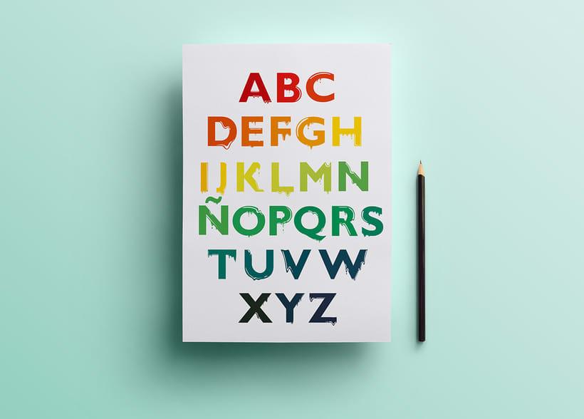 Tipografía: Tipografía re-diseñada. 2