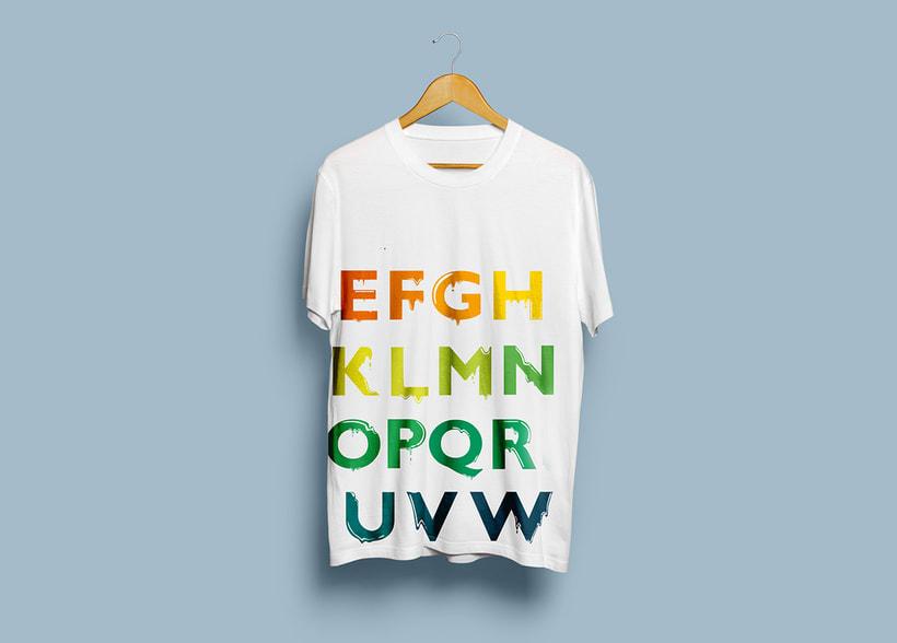 Tipografía: Tipografía re-diseñada. 3