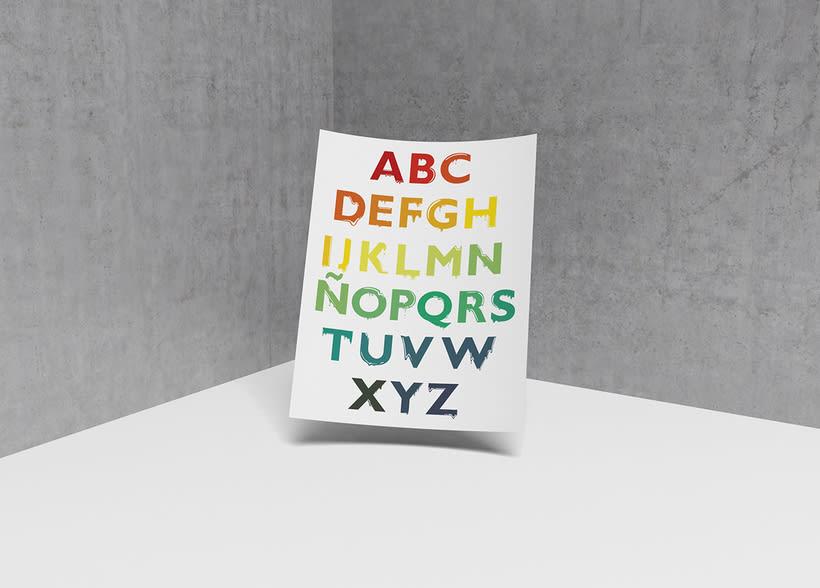 Tipografía: Tipografía re-diseñada. 4