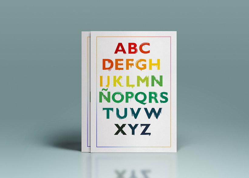 Tipografía: Tipografía re-diseñada. 9
