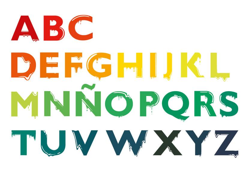Tipografía: Tipografía re-diseñada. 1