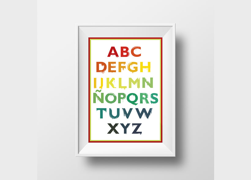 Tipografía: Tipografía re-diseñada. 14