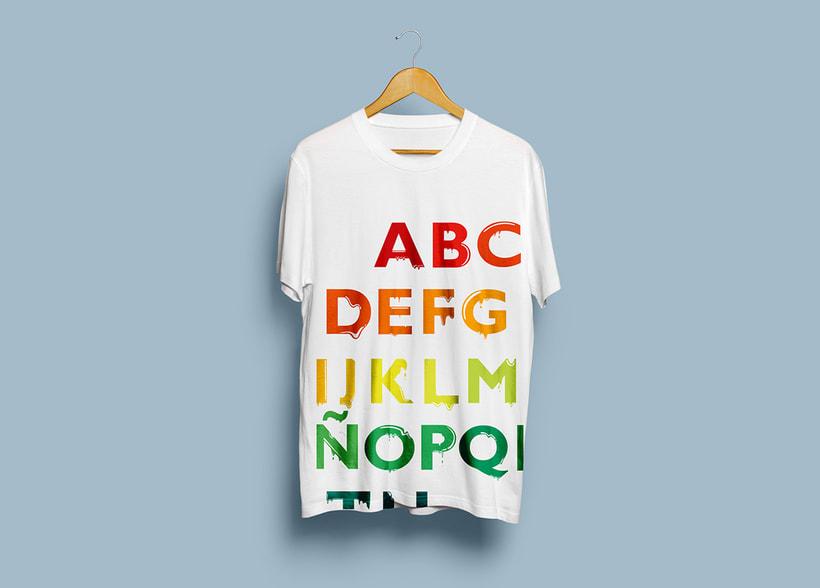 Tipografía: Tipografía re-diseñada. 15