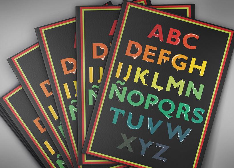 Tipografía: Tipografía re-diseñada. 18