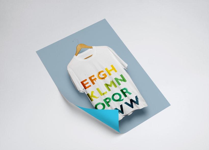 Tipografía: Tipografía re-diseñada. 20