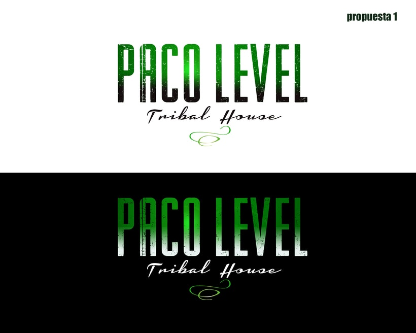 Branding para Level DJ -1