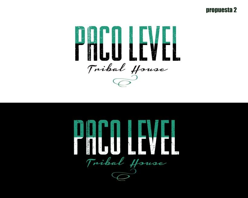 Branding para Level DJ 0