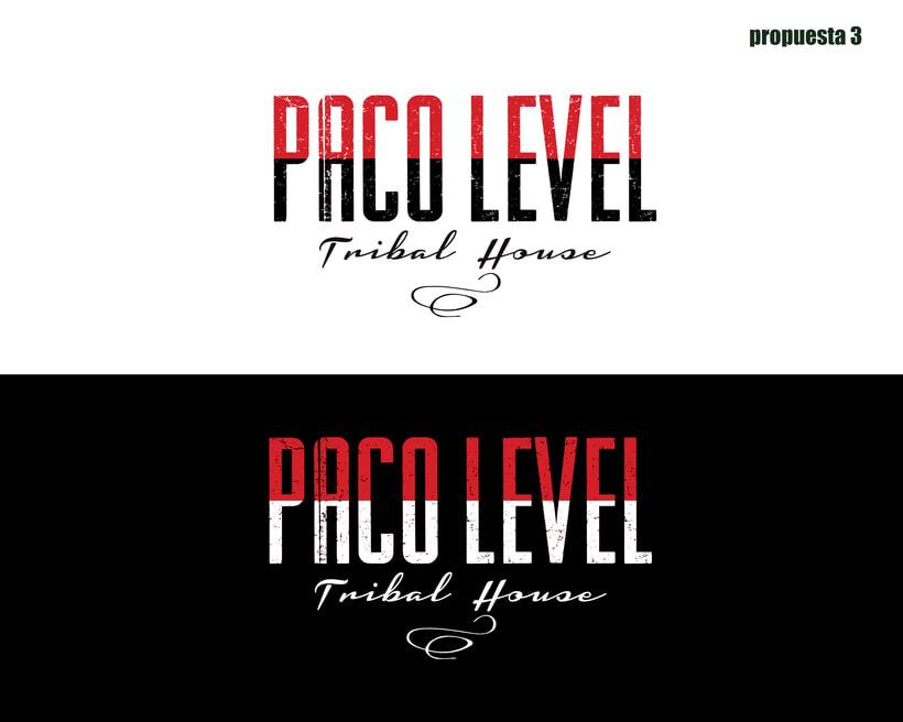 Branding para Level DJ 1