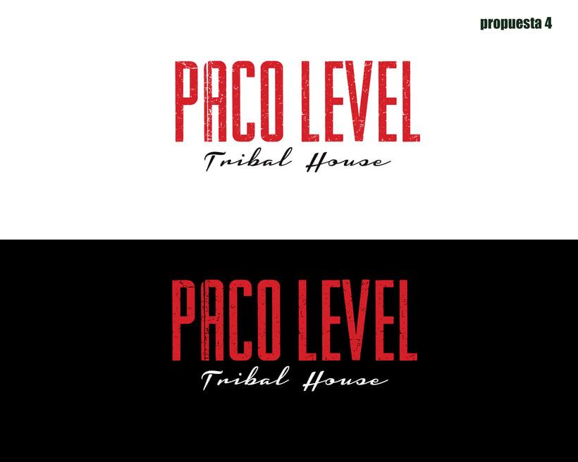 Branding para Level DJ 2