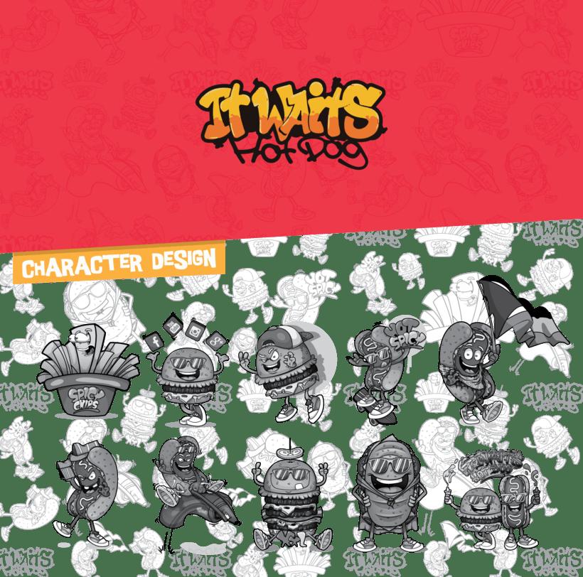It waits / Character Design -1