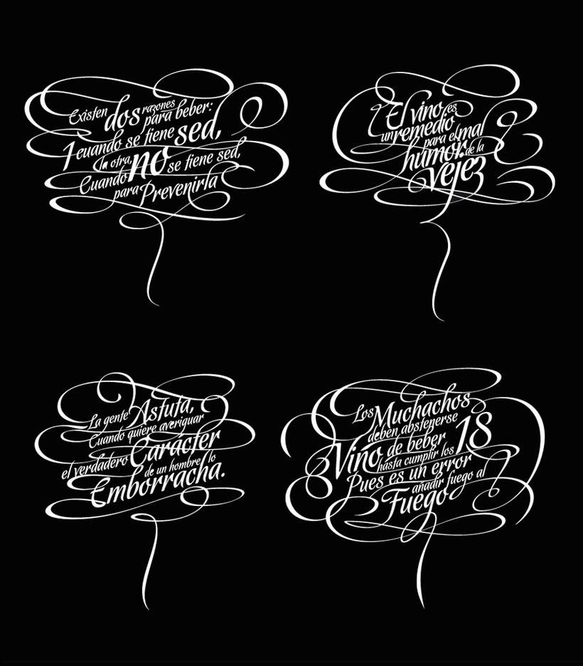 Panco Sassano, maestro del lettering 10