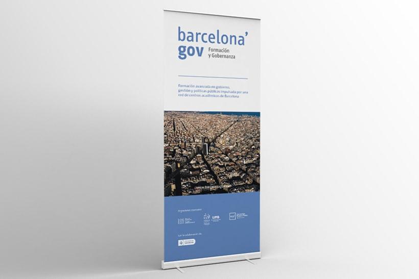 Identidad corporativa  y diseño web para Barcelona'gov 5