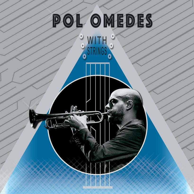 """Portada vinilo """"Pol Omedes with strings"""" -1"""