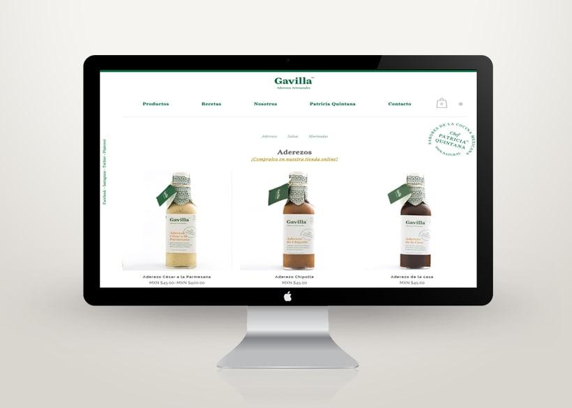 Sitio Web Gavilla 0
