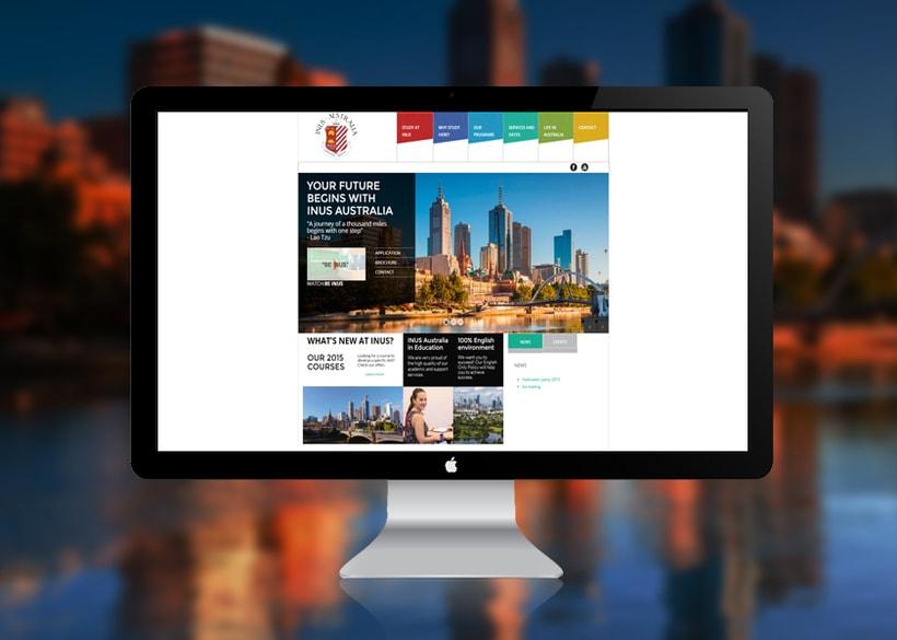 Sitio Web INUS Australia 0